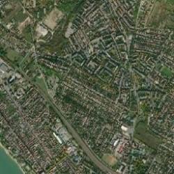 Vác város térkép